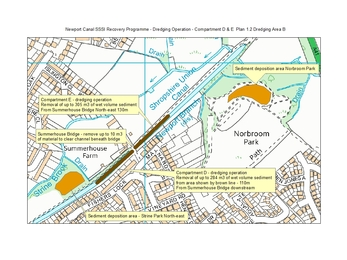 Newport Canal dredging map 2 of 2