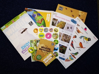 Membership pack children wildlife watch 2021