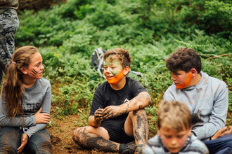 Kids outdoors Summer holidays