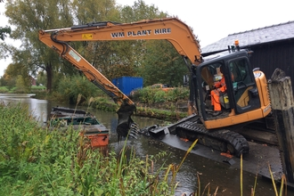 Newport Canal SSSI conservation dredging