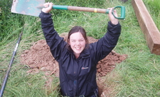 Volunteer with Shropshire Wildlife trust
