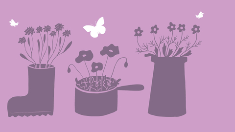 How to create a container garden for wildlife