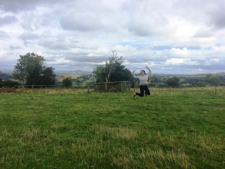 Work experience placements jumping girl in Shropshire