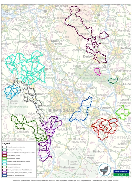 Severn Trent priority catchments